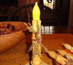 PRIMITIVE Candle Light No Flame battery by crowsnestprimitive, $9.99