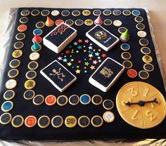 'Alias Party' marzipan cake. Marzipan Cake, Amazing Cakes, Cool Stuff, Party, Parties, Yummy Cakes