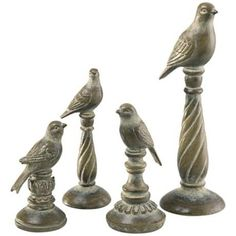 garden bird finial | Bird Finials | For the Home | Pinterest