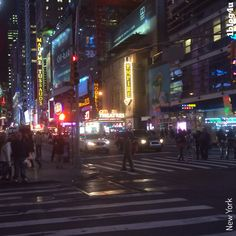 An evening of Jazz at Birdland implies driving through the heart of #Manhattan and it's magical appeal. The intensity of the lights is a reflection of how active and vibrant the city is. #1blog4u #blog #Gabriella #Ruggieri #Sergio #Bellotti #NYC #NewYork #NYCJazz #NewYorkCity