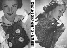 Patrones Crochet: 123 Bolsos de crochet con patrones