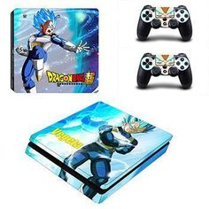 Vegeta Dragon Ball Z PS4 Sticker For Console And 2 Controller