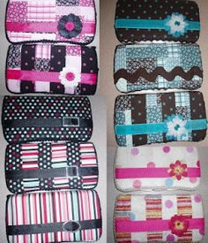 Baby wipe cases Great gift idea. She gives wonderful instructions with pictures. I guess the idea could apply to any snap case.