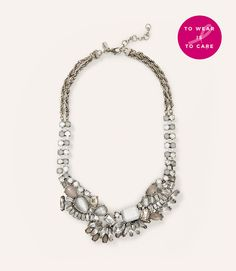 Primary Image of Sparkle Statement Necklace