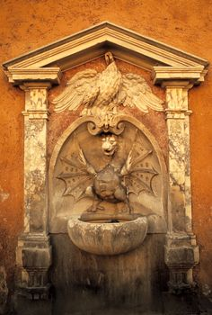 Ancient Dragon Fountain, Vatican City, Italy© Doug Hickok  All Rights ReservedMore here…