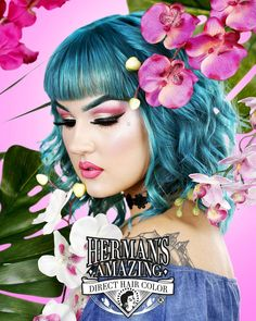 Herman's Amazing Tammy Turquoise  http://www.hermanshaircolor.com/