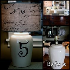 LOVE! DIY Lamp Redo