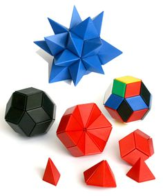 The ball shape is formed by 30 rhombi (a rhombus is an equilateral quadrilateral, opposite sides are parallel)