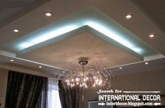 LED ceiling lights, LED strip lighting for false ceiling pop design