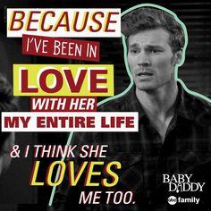 "S4 Ep21 ""What Happens in Vegas"" - Things got deep tonight. ❤️ #TeamDanny #BabyDaddy"