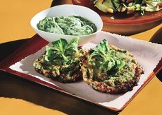 Tender Zucchini Fritters with Green Goddess Dressing Recipe