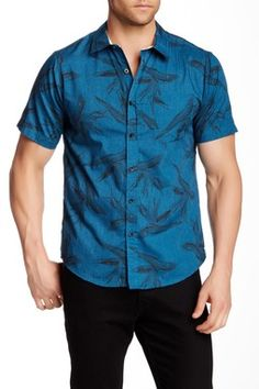 Treasure Island Printed Regular Fit Shirt