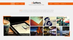 Letters is a WordPress theme for those longing for a slick business, portfolio or an e-commerce site. We tailor it to suit your portfolio of creative products. Letters is the perfect solution if you are needing some oomph for your online presence. The design is not heavy-weight that it would cause an eye-strain, yet it's still somewhat an eye-candy and edgy enough to get your visitors' attention.