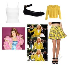 """""""Clueless (As if!)"""" by fcfashion ❤ liked on Polyvore featuring Bamboo and Lenox"""