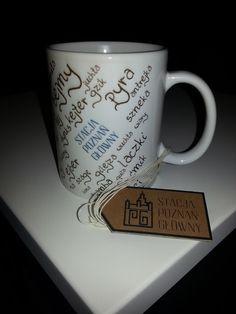 Amateur product design by Stacja Poznań Główny  Poznań dialect mug!