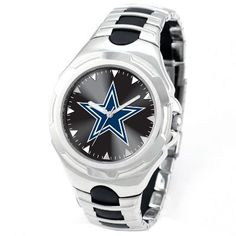 Dallas Cowboys Men's Watch in Stainless Steel, available at #HelzbergDiamonds