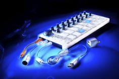 Arturia BeatStep USB MIDI Controller and Sequencer - It's a knob/pad MIDI controller for your software -- and a 16-step sequencer with scale modes to keep you on key. The BeatStep can do both at the same time!