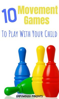 These fun movement games are great to play at home and will develop your kids' gross motor skills. Educational Activities For Preschoolers, Pre Reading Activities, Movement Activities, Gross Motor Activities, Gross Motor Skills, Preschool Activities, Holiday Activities, Toddler Learning, Preschool Learning