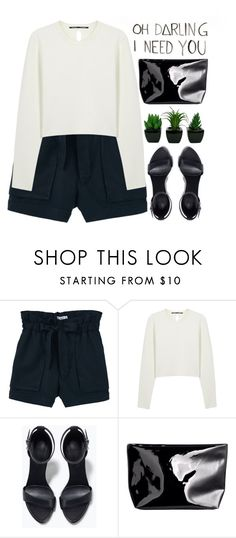 """""""oh darling"""" by evangeline-lily ❤ liked on Polyvore featuring INDIE HAIR, MANGO, Proenza Schouler, Zara, H&M, mango, HM and zara"""