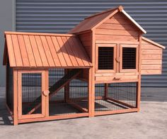 Chicken Coop With Mesh Floor Chook House Rabbit Guinea Pig Cage Hutch Rabbit Hutch Plans, Outdoor Rabbit Hutch, Rabbit Hutches, Small Chicken Coops, Chicken Cages, Diy Chicken Coop, Chicken Houses, Bunny Cages, Rabbit Cages