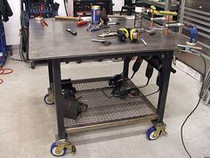 Miller - Welding Projects - Idea Gallery - Welding Table