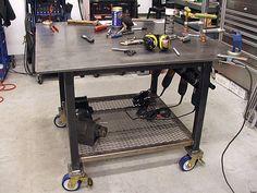 Welding Table | Industrial Lighting | Pinterest | Welding, Welding Table  And Tables