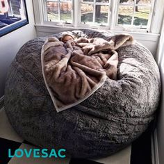 i want this gray fluffy cover for my lovesac!