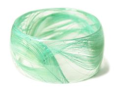 Feather Jewelry  Teal Feather Bangle by ModernFlowerChild on Etsy