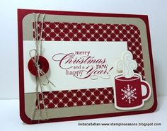 """i STAMP by Nancy Riley  Barbara Smiths says """"I would probably leave off the mug""""."""