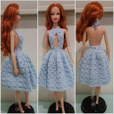 Barbie Sexy Cleavage Dress (Free Crochet Pattern)