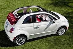 Fiat 500C  adorable wee car
