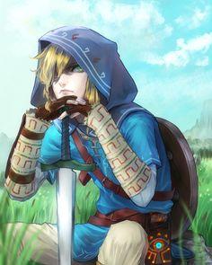 Legend of Zelda | Breath of the Wild, Nintendo, video games, fan art video game xboxpsp.com/...