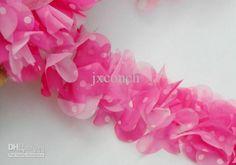 Wholesale 100yards/lot 3D Chiffon flower Fabric Craft Sewing Mesh Trim Lace, Free shipping, $2.63-3.19/Yard | DHgate