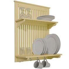 NOVEL - Kitchen Plate, Bowl, Cup Display / Wall Rack - Buttermilk WATSONS http://www.amazon.co.uk/dp/B005CUEPT0/ref=cm_sw_r_pi_dp_X91Swb1VCXBBF