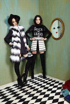 Alice + Olivia Fall 2016 Ready-to-Wear Fashion Show / défilé de mode prêt-à-porter automne 2016