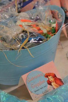 Mermaid Party Favors - swim goggles