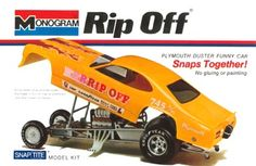 Monogram Rip Off funny car
