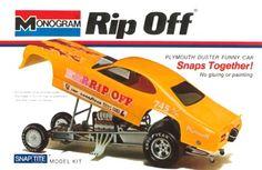 Monogram Rip Off funny car