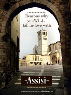 One of our favourite towns in Umbria.  Assisi is absolutely gorgeous.  There are so many reasons why you will fall in love with this precious town!  Click the photo to read more about why you should include this town in your Italy itinerary.