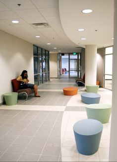 An interior shot of the Altamonte Springs Campus at Seminole State College of Florida. http://www.seminolestate.edu/?utm_source=Pinterest_medium=Link_campaign=Virtual%2BTour