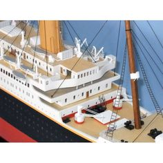 We supply the highest quality parlor room decor. Carrying everything from bar globes, furniture, telescopes, planes, model ships and more. Titanic Ii, Model Ships, Cruise, Deck, Lights, Building, Boats, Aquarium, Toy