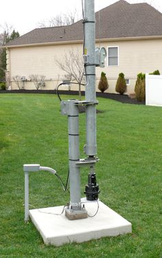 US Tower MARB-40 Free Standing Rotor Base with MA-40 Tubular tower by by K2MK