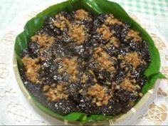 """BIKO"" (white and black sticky rice mixed,w/ jackfruit or langka)"
