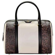Roberto Cavalli Class Signature Collection Handtasche Leder 31 cm