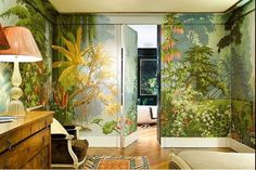 painted wall murals
