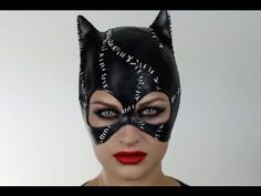 Amazing Catwoman makeup :))) | COSTUMES. #ilovehalloween ...