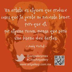 Quotes art / citas de arte / Andy Warhol