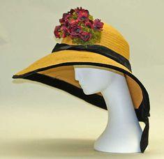 Hat Date: ca. 1910 Culture: American or European Medium: straw Accession Number: C.I.41.103.1