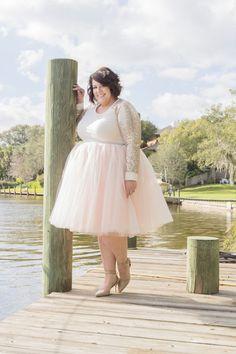 9e5b165f Plus Size Clothing for Women - Loey Lane Premium Tutu - Blush (Sizes - -  Society+ - Society Plus - Buy Online Now!