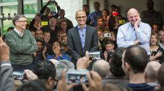 Microsoft names Satya Nadella its next CEO